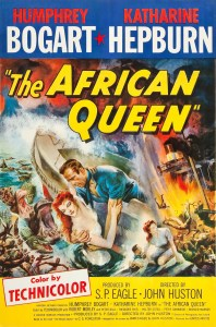 Movie poster for The African Queen