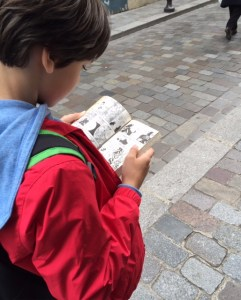 Livres dans la rue