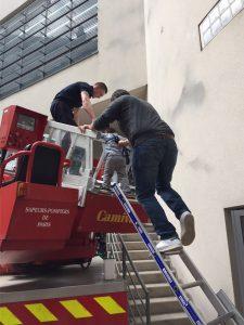 échelle pompier