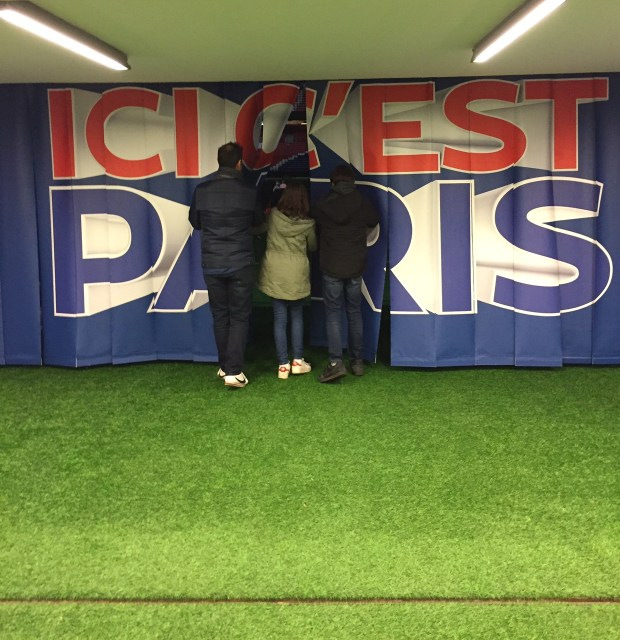 escape game au parc des princes