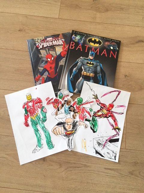 livres super-héros
