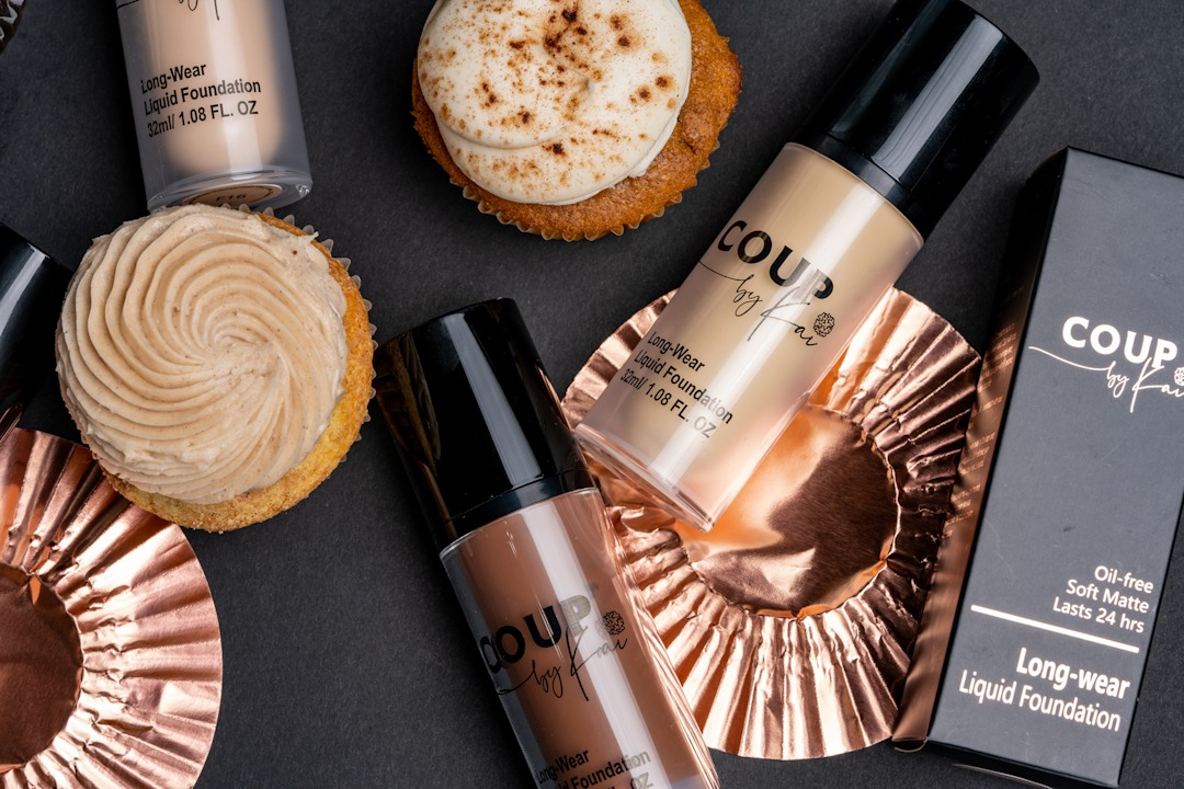 Coup by Kai foundations are never cakey
