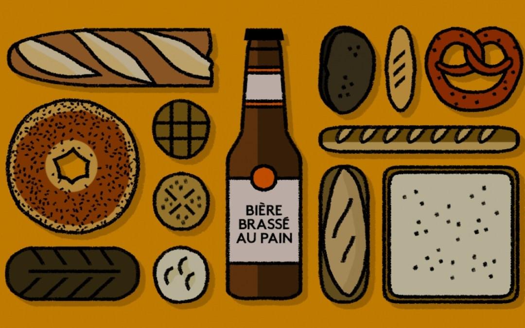 La bière au pain, une bière responsable