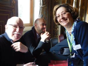 Sadia Barèche et des amis