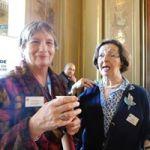 Michèle Rodary et Sadia Barèche, organisatrices au Maghreb des livres de longue date