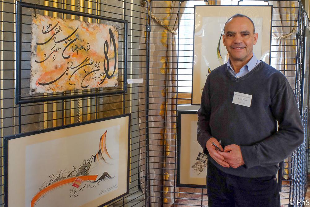 Abdelkrim Benbelkacem: calligraphies