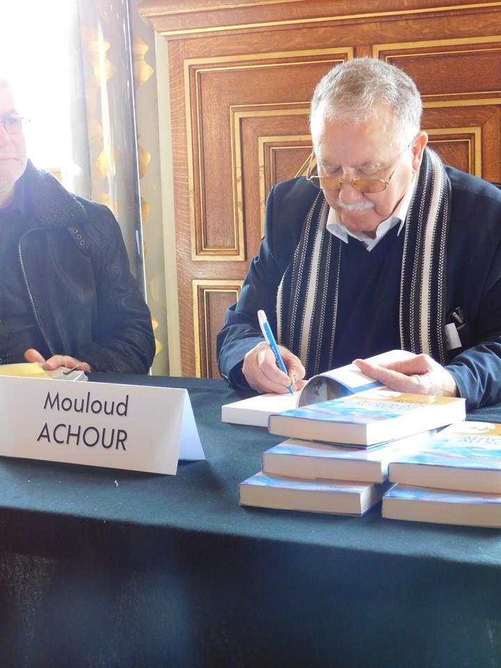 Mouloud Achour en signature