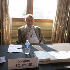 Jacques Fournier en signature