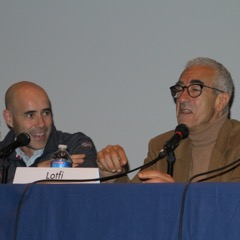Frédéric BENIADA et Lotfi BELHASSINE à l'hommage à Arezki
