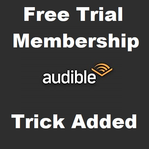 Amazon Audible Free Trial Membership for 90 Days worth ₹600 + 5 Free