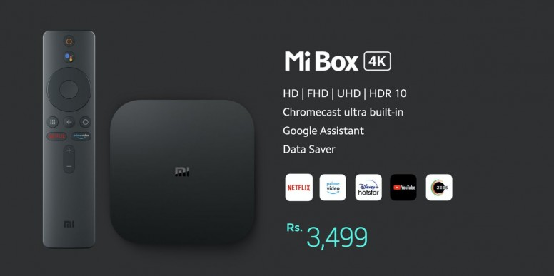 Buy Mi Box 4K in India Now make any TV, a Smart TV at ₹3499