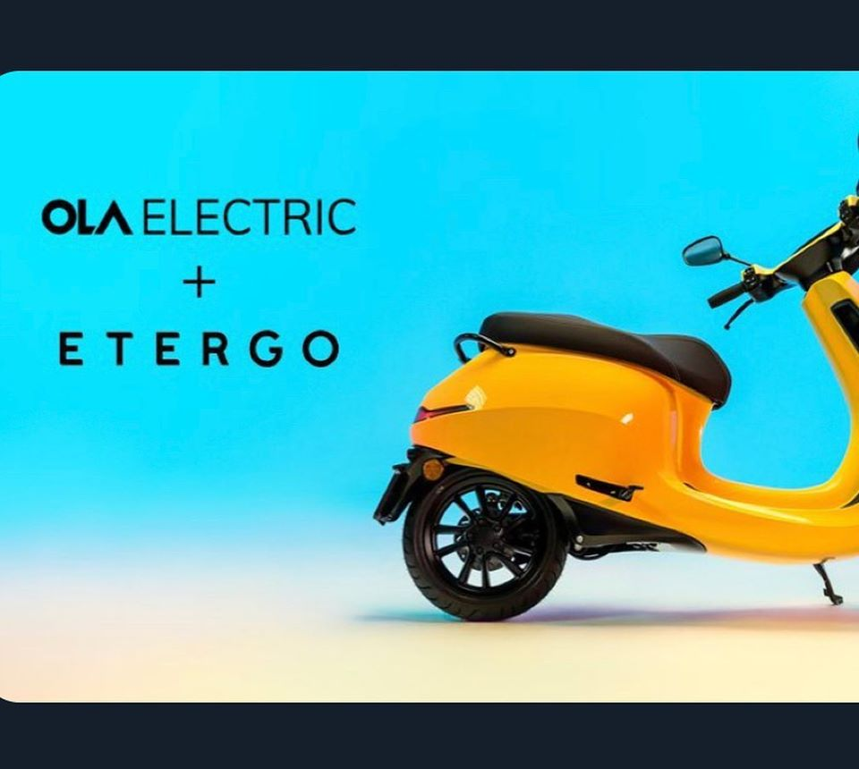 Ola Electric Etergo Own Electric Two-Wheeler in India 2021