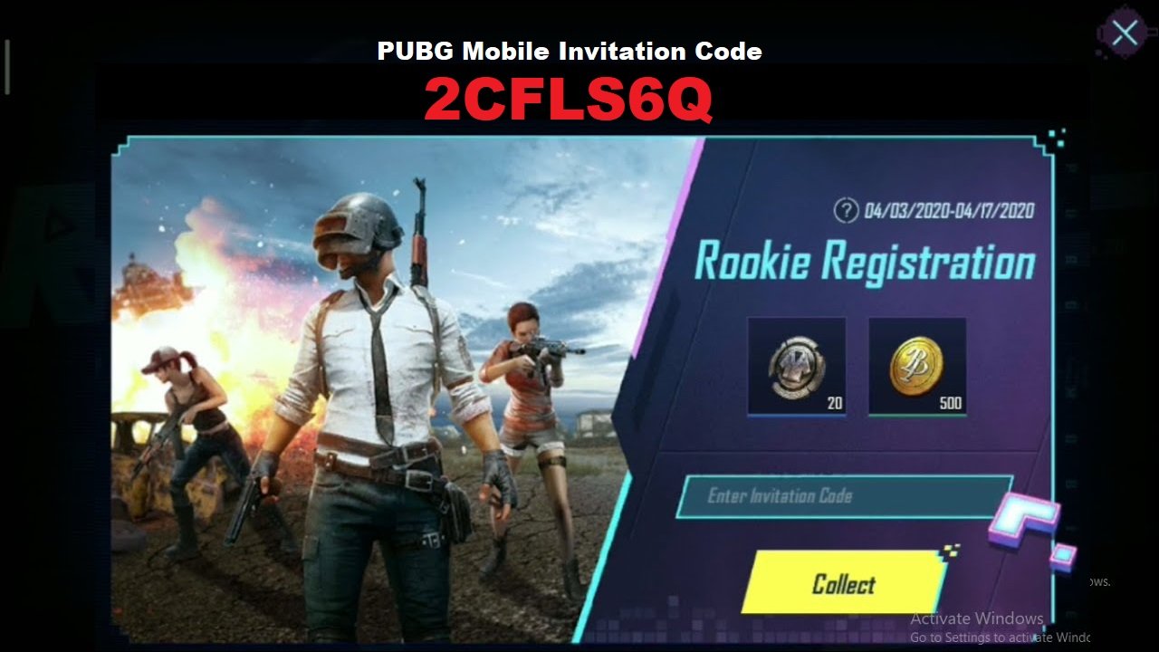 PUBG Mobile Invitation Code Use Collect A Permanent EPIC Outfit Free