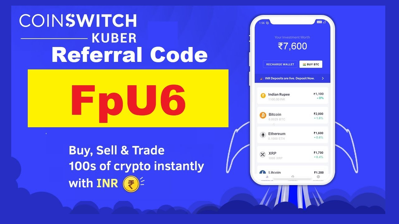 Download APK CoinSwitch Referral Code Earn Free BitCoin Refer & Earn