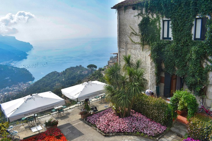 Hotel Parsifal, Ravello, Couple Coffee Joy