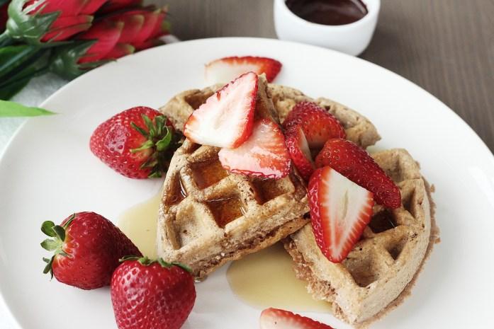 Gluten-Free Protein Chocolate Waffles 2