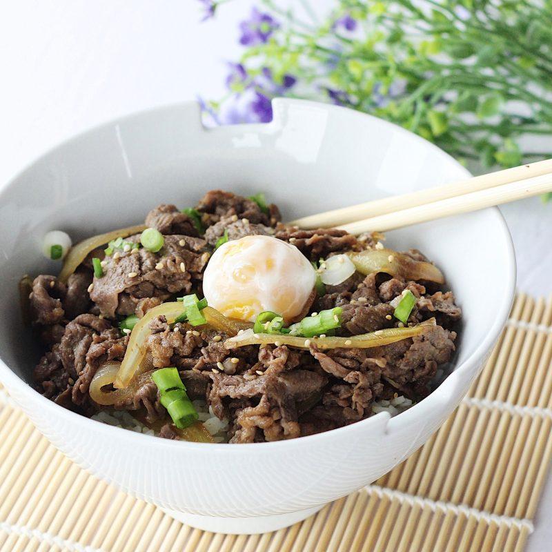 Summer Lemon GYUDON (Beef Rice Bowl Recipe) | OCHIKERON ...