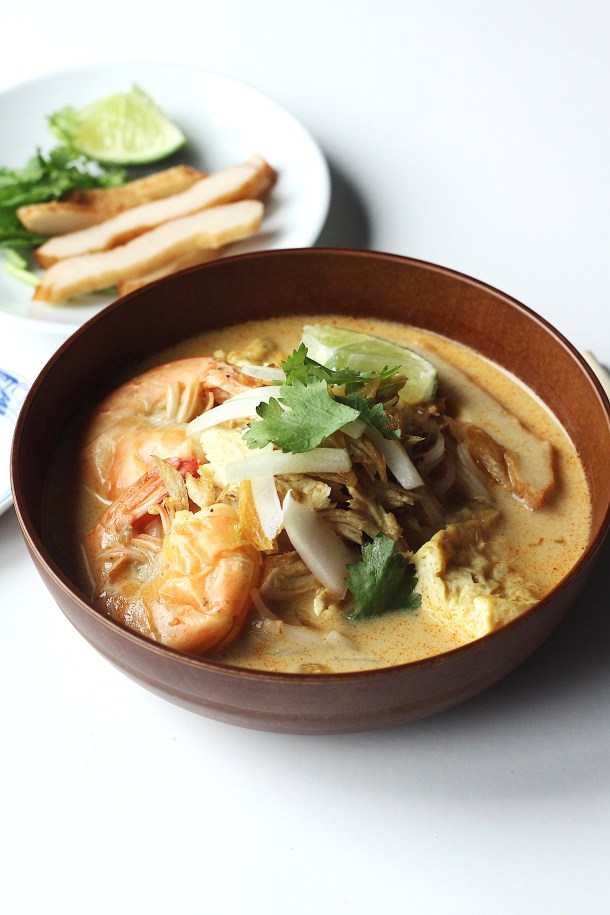 Chicken Laksa (Coconut Curry Soup) Recipe