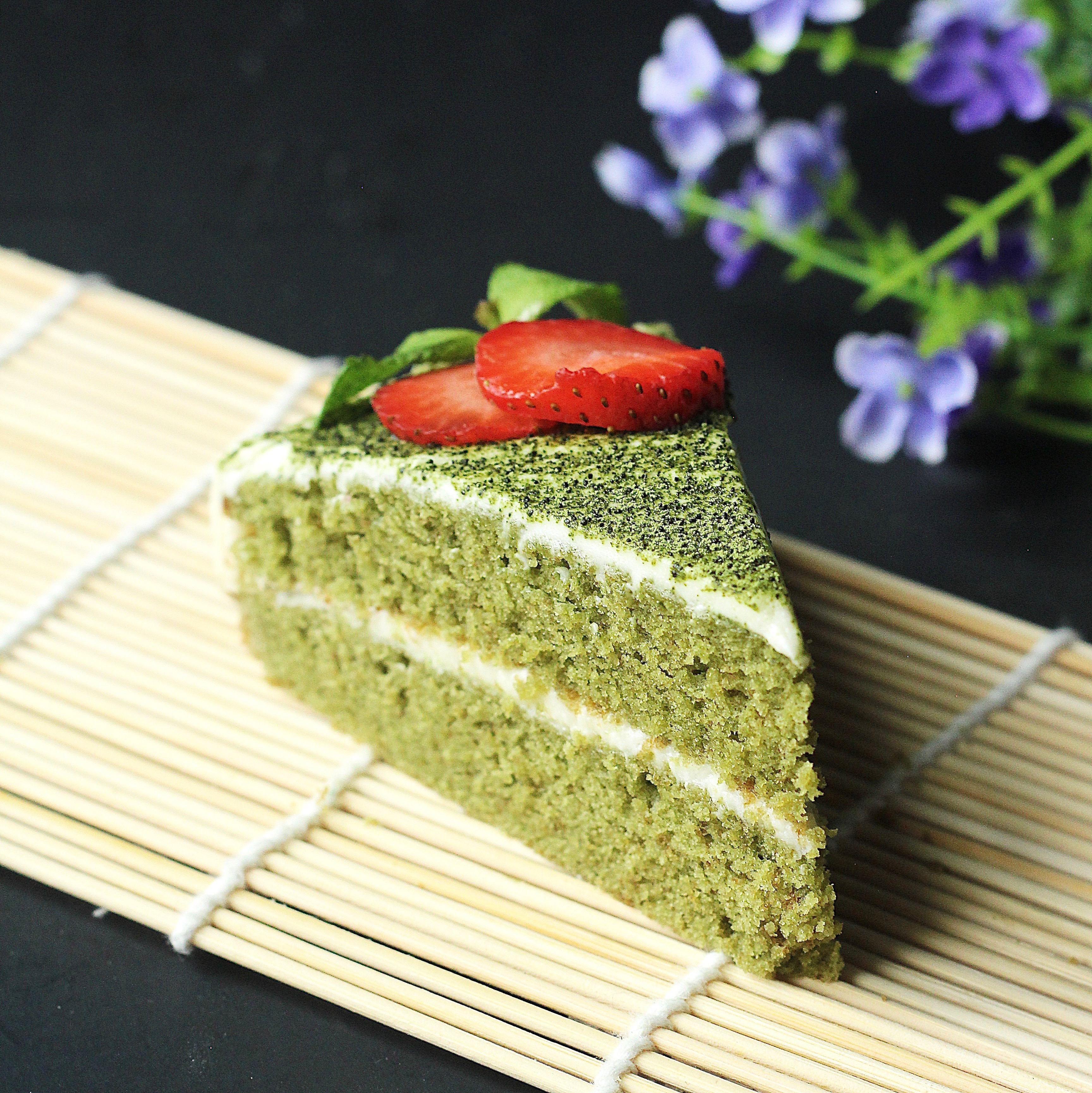 Green Tea Matcha Cake With White Chocolate Frosting Recipe