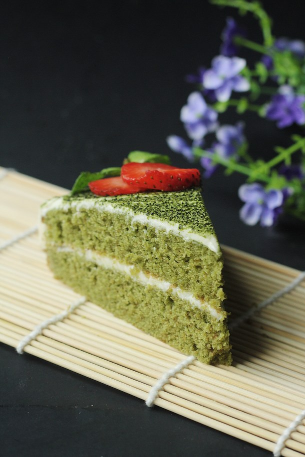 Image result for Green Tea Choco Butter Cake