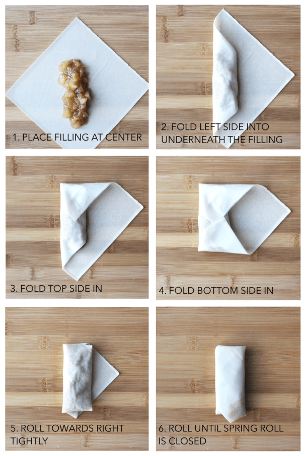 How to Wrap a Spring Roll