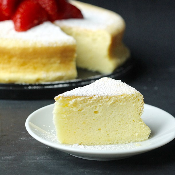 Japanese Souffle Cheesecake Recipe