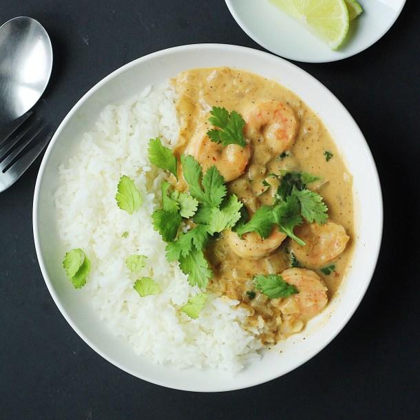 Thai Coconut Shrimp Curry