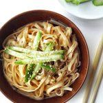 Asian Peanut Butter Sesame Cold Noodle Salad