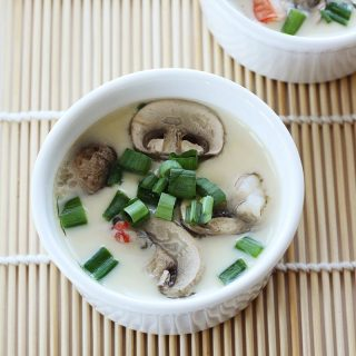 Japanese Savoury Steamed Egg Custard (Chawanmushi)