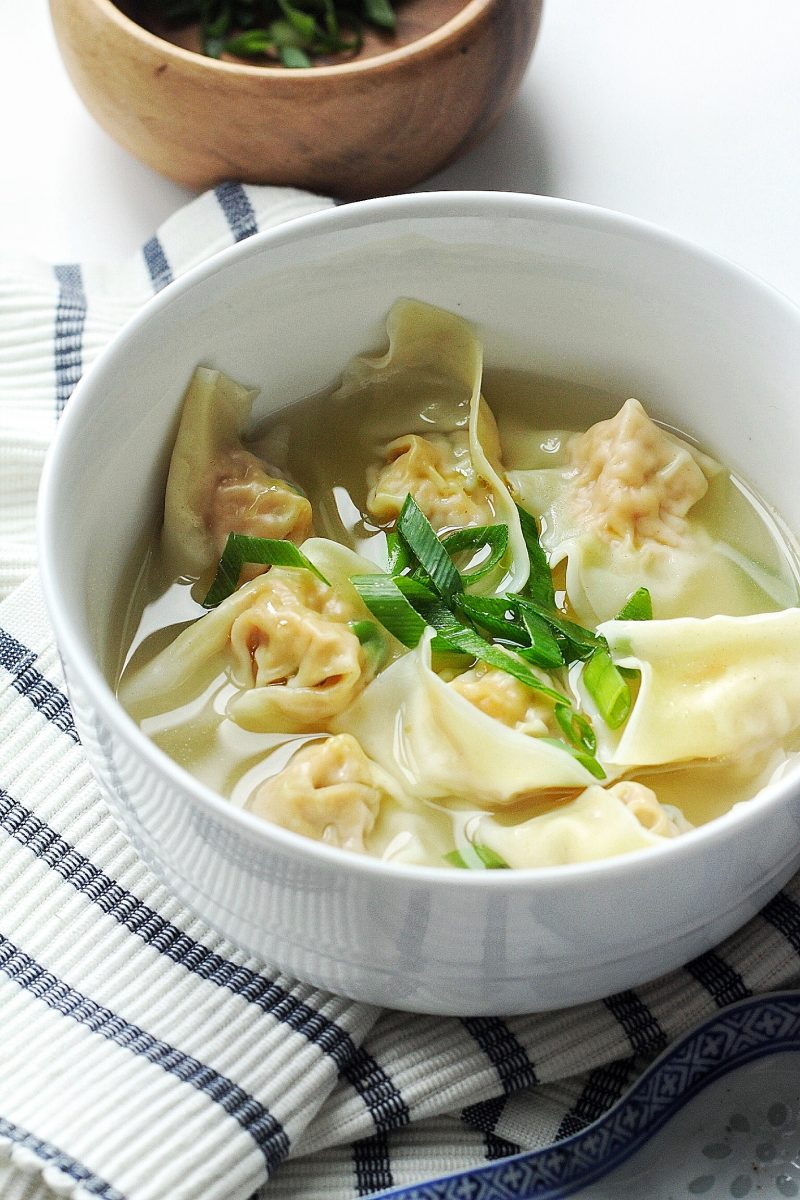 homemade wonton soup recipe  couple eats food