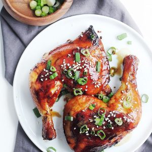 Honey Ginger Soy Baked Chicken Recipe