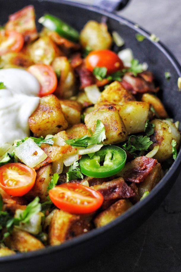 Mexican-Style Breakfast Potatoes