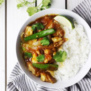 Spicy Red Curry Chicken Recipe