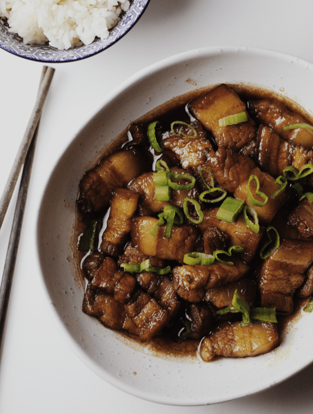 Easy Chinese-Style Braised Pork Belly