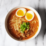 Spicy Garlic Miso Ramen Recipe