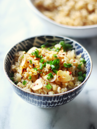 Spicy Garlic Fried Rice Recipe