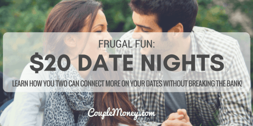 $20 DATE NIGHT challenge couple money