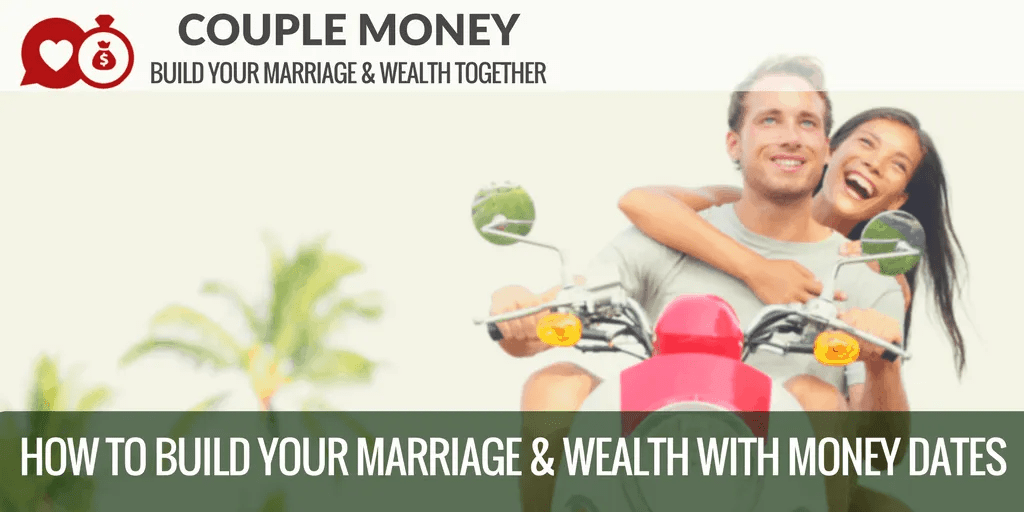 Trying to get on the same page with your finances? Learn how money dates work to help you two work as a team on your big financial goals while having fun! #marriage #money #family