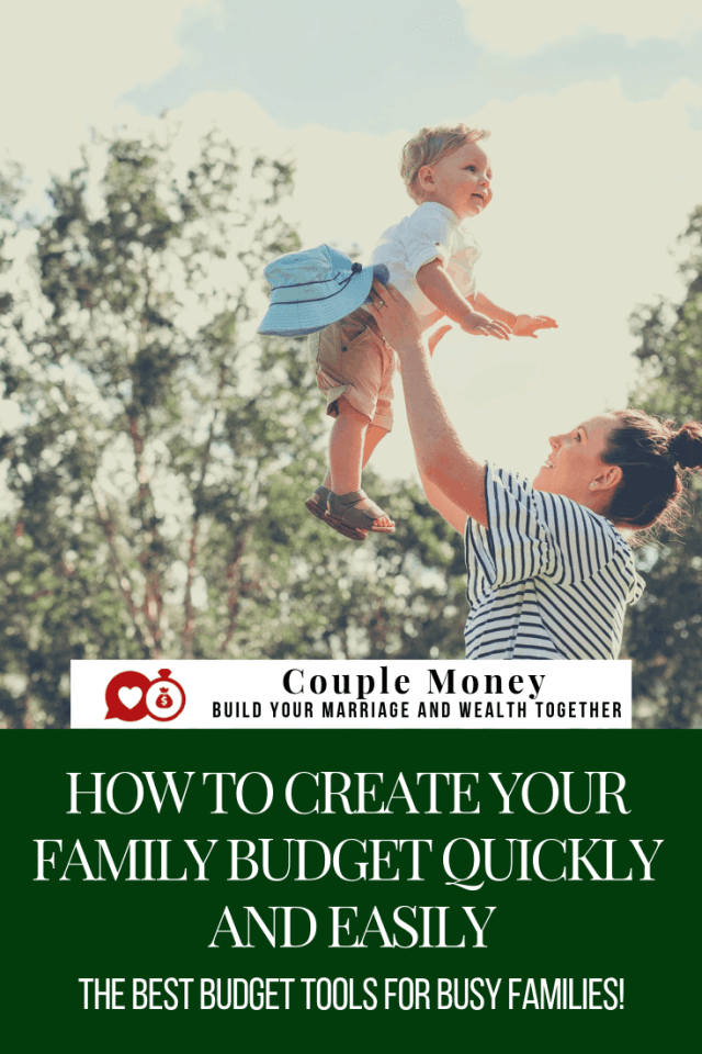 Hate making budgets? Learn about free tools that can help the two of you quickly and easily build a budget that boosts your bank accounts and enjoyable! #family #money #debtfree #budgets