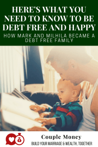 How would your life change if you were debt free? No credit cards, car or student loan to worry about. Not even a mortgage. Today one couple shares their journey and advice to having a happy and debt free life! #debtfree #family #marriedlife