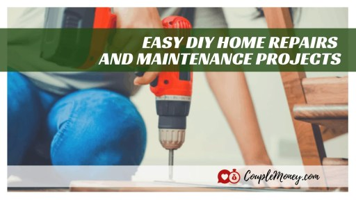 Learn the essential (and easy) DIY home repairs and maintenance skills you need to take care of your house and save a ton of money! #diy #home #realestate