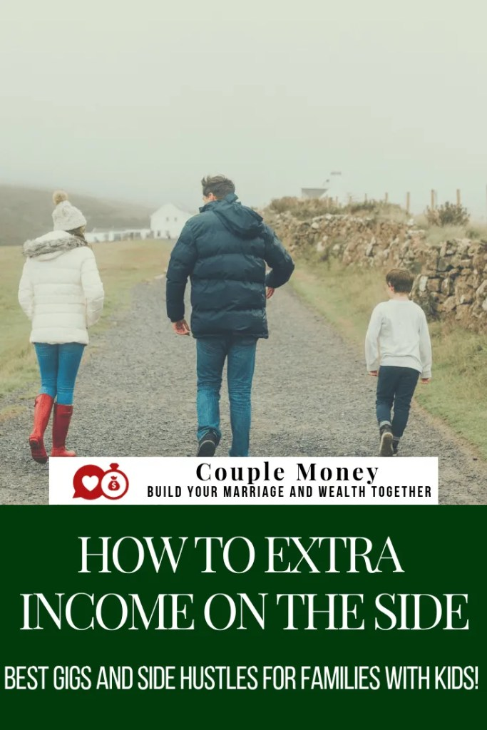 Are you a parent trying to knock out some debt? Here are the best gigs and side hustles for busy families that don't require you to get a second job! #family #money #sidehustle