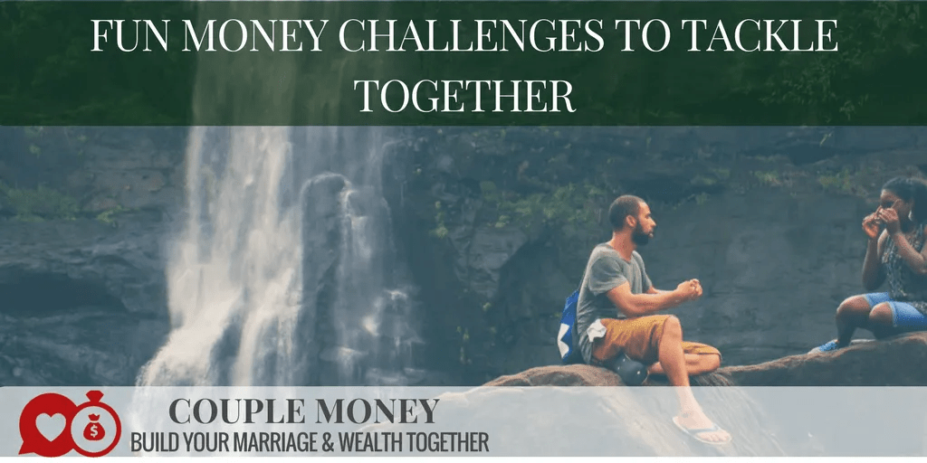 Want to step things up with your big goals? Try out these 4 fun money challenges together to dump your debt faster and become financially free!