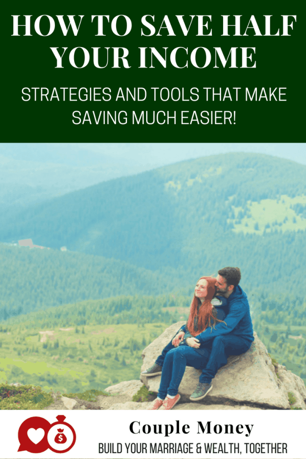 Looking to dump your debt or reach your dream faster? Learn the strategies and tools Matt and his fiancée used to save more than half their income - while still having fun! #saving #money #marriedlife