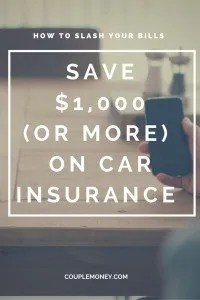 Learn how to save $1000 or more each year on your insurance premiums.