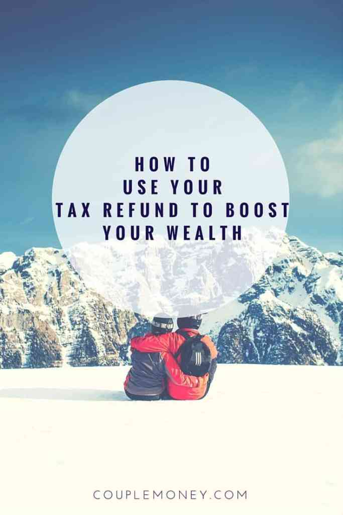 Before you spend a penny of it, I want to give you ideas so you can use your tax refund to drop debt, save more, and build your wealth.