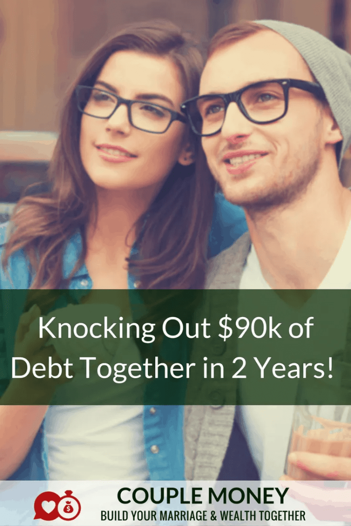 Carrying $90,000 of debt seems overwhelming and impossible to get rid of. Kim and Cressel worked together to knock out their mortgage - on one income!