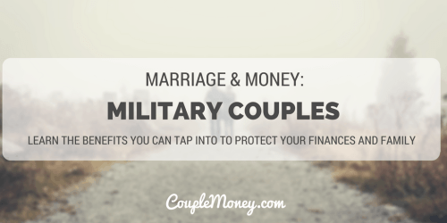 MILITARY COUPLES couple money