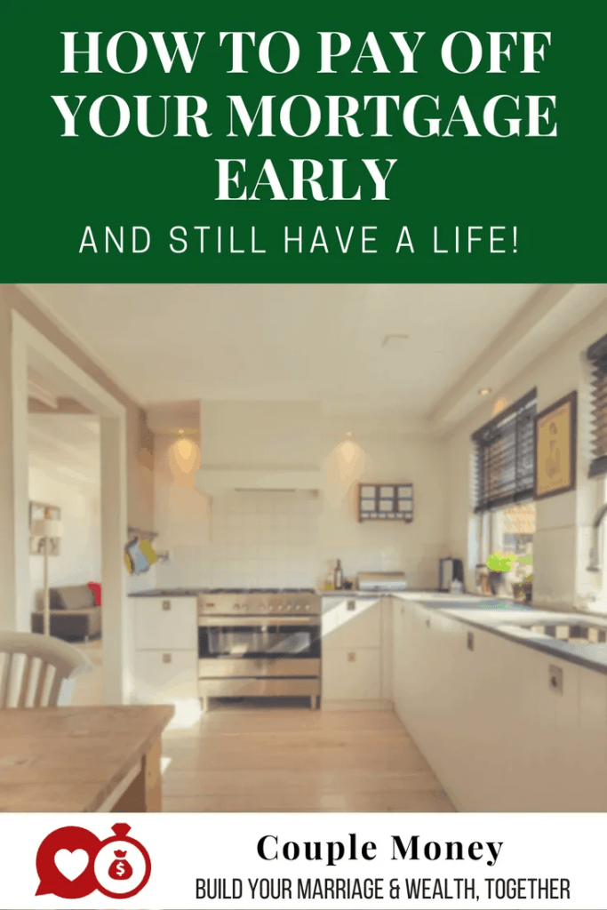 Want to be completely debt free, including your house? Find out the key changes one couple made to pay off their mortgage in less than 5 years! #debtfree #mortgage #family #money