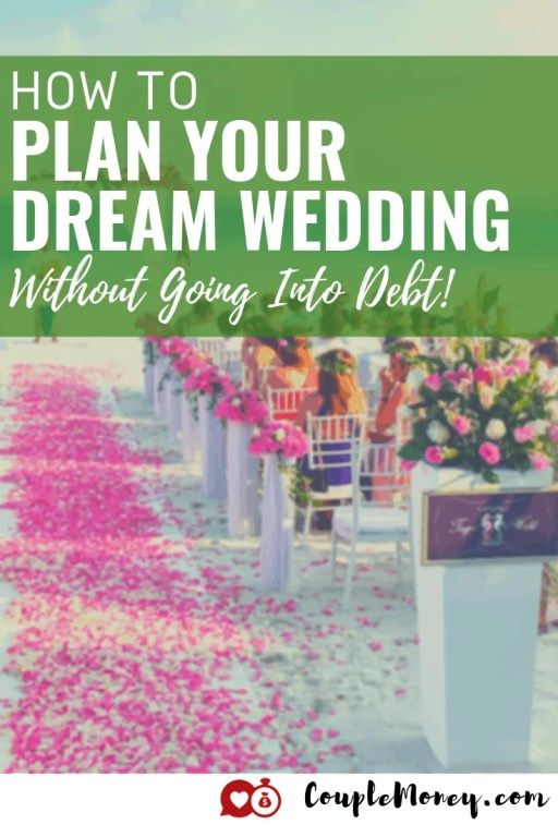 Do you want your wedding day to be beautiful, memorable, and meaningful without spending a ton of money or getting into debt? Learn how you can plan your dream wedding on a budget!  #weddings #wedding #money #marriage #personalfinance